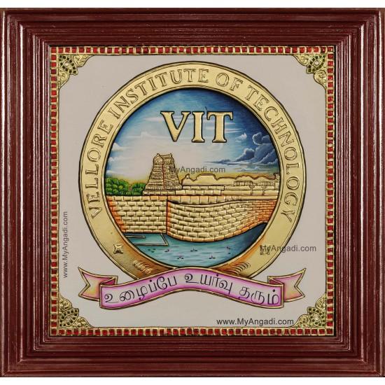VIT University Logo Tanjore Painting