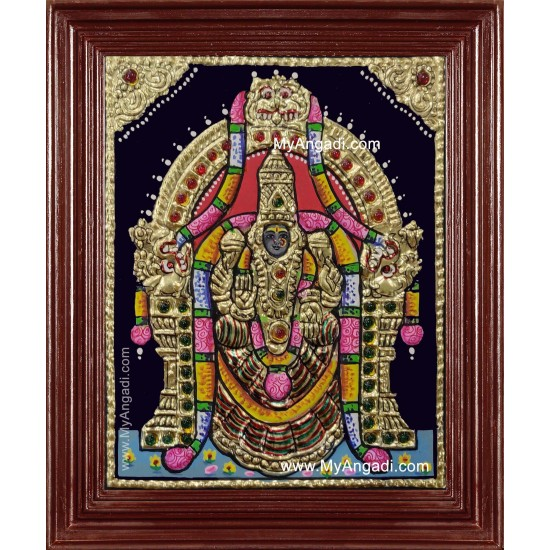 Padmavathi Tanjore Painting
