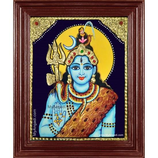 Shiva Tanjore Painting