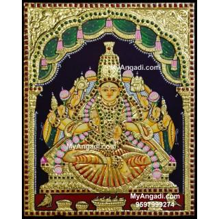 Aishwarya Lakshmi Tanjore Painting