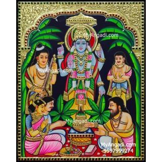 Sathya Narayana Tanjore Painting