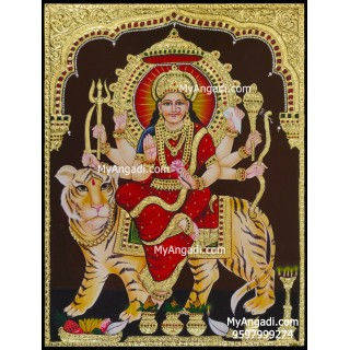 Durga Tanjore Painting