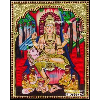 Dakshinamurthy Tanjore Paintings