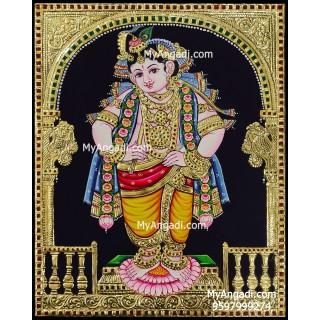 Mappilai Krishna Tanjore Paintings
