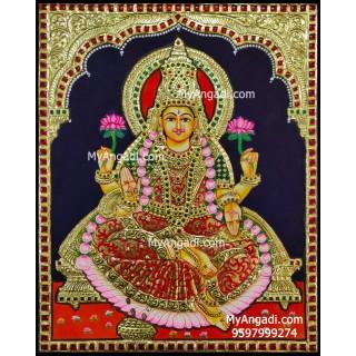 Mahalakshmi Tanjore Painting