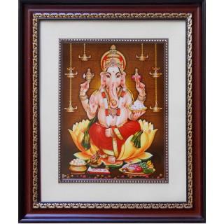 Lord Ganesha Photo Frame Big