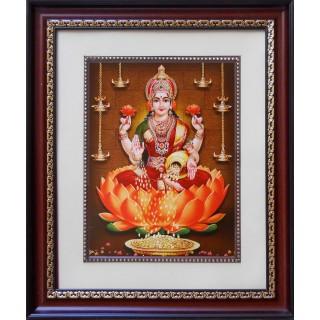 Lord Lakshmi Photo Frame Big