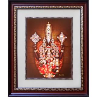Lord Venkatachalapathi Photo Frame Big