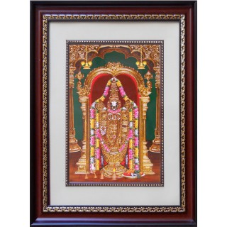 Lord  Thirupathi Balaji Photo Frame Big
