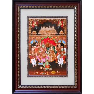 Lord  Ramar Pattabishegam Photo Frame Big