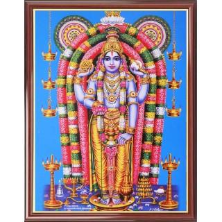 Lord  Guruvayur Krishna Photo Frame Big