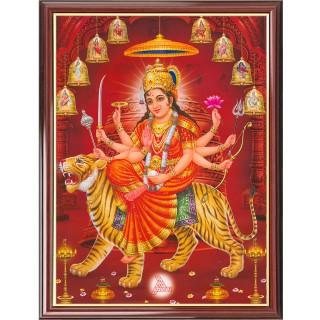 Goddess Durga Photo Frame