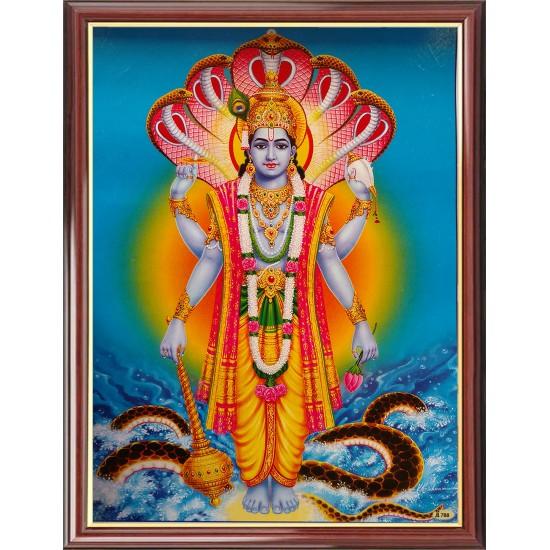 Vishnu Photo Frame