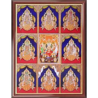 Ashtalakshmi Photo Frame