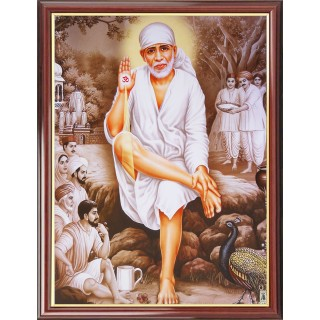 Shirdi Sai Baba Photo Frame