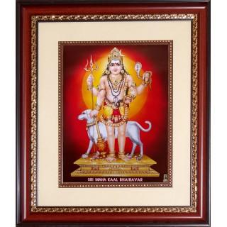 Kala Bairavar Photo Frame Big