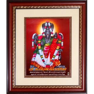 Lakshmi Hayagrivar Photo Frame Big