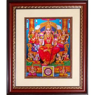 Raja Rajeswarai Photo Frame Big