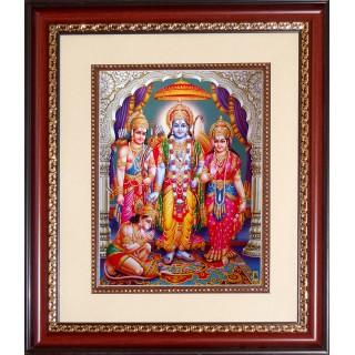 Ramar Sita Lakshmanan Hanuman Photo Frame Big