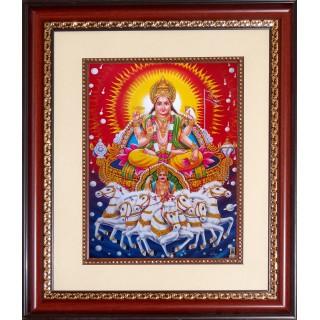 Surya Narayanan Photo Frame Big