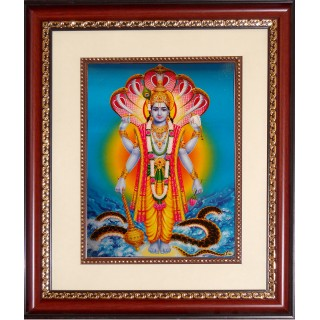 Vishnu Photo Frame Big