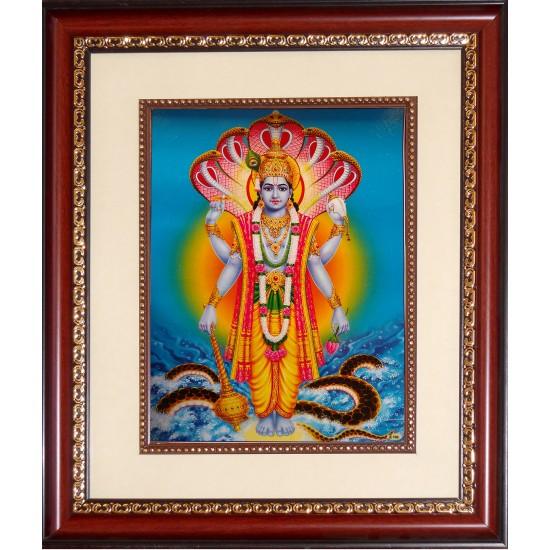 Vishnu Photo Frame Big
