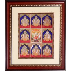 Ashtalakshmi Photo Frame Big