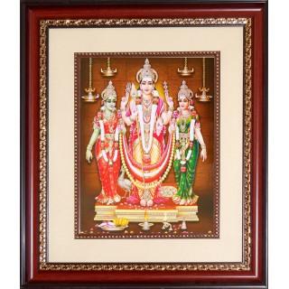 Murugan Valli Devasena Photo Frame Big