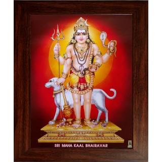 Kala Bairavar Photo Frame