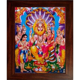 Lakshmi Narasimhar Photo Frame