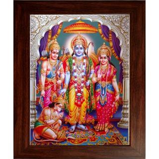 Ramar Sita Lakshmanan Hanuman Photo Frame