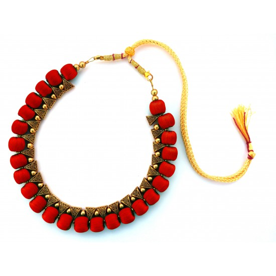 Youth Red Thread Necklace