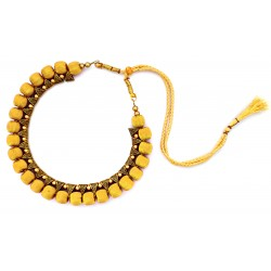 Youth Gold Silk Thread Necklace