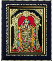 Tirupathi Balaji / Venkateswara Perumal Small Size Tanjore Paintings
