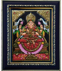 Gaja Lakshmi Tanjore Paintings