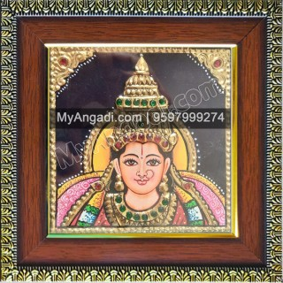 Small Lakshmi Tanjore Paintings