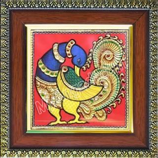 Small Krishna Tanjore Paintings