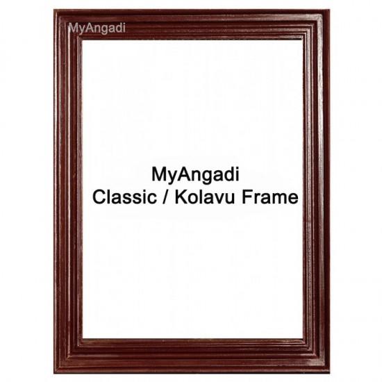 Tanjore Painting Classic / Kolavu Teak Wood Frame