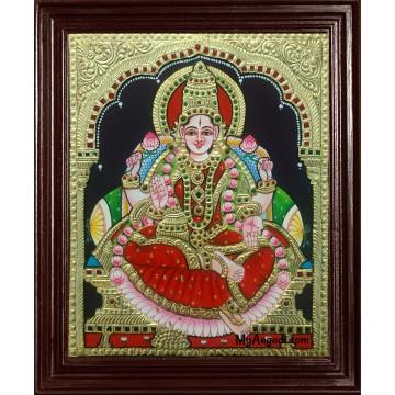 Dhana Lakshmi Tanjore Painting