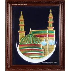 Mecca Tanjore Painting