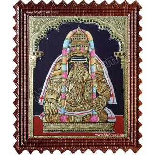Pillayarpatti Vinayakar Tanjore Painting