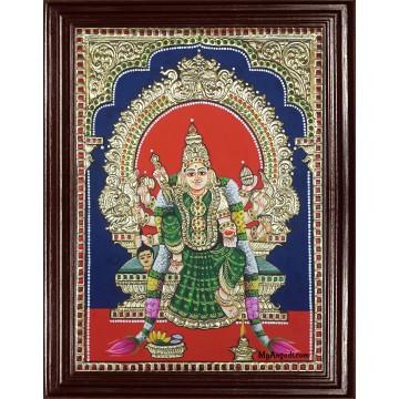 Kuladeivam Tanjore Painting
