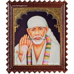 Sai Baba Tanjore Painting