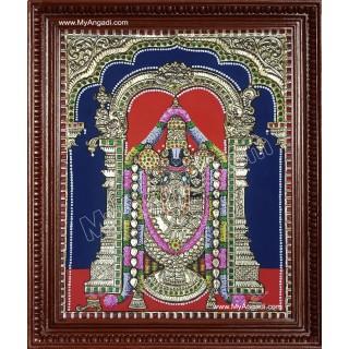 Thirupathi Balaji Tanjore Painting
