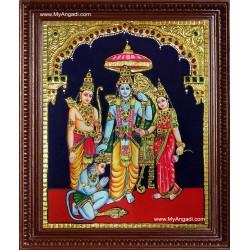 Kothanda Ramar Tanjore Painting