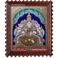 Aishwarya Lakshmi Tanjore Painting, Ishwarya Lakshmi Tanjore Painting