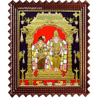 Aandal Tanjore Painting, Andal Tanjore Painting