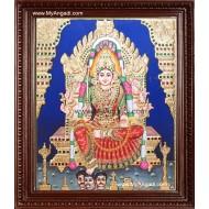 Samayapuram Mariyamman Tanjore Painting, Amman Tanjore Painting