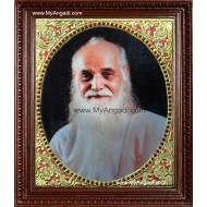 Vedhathiri Maharishi Tanjore Painting, Saint Tanjore Painting