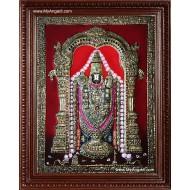 Thirupathi Venkatachalapathi Tanjore Painting
